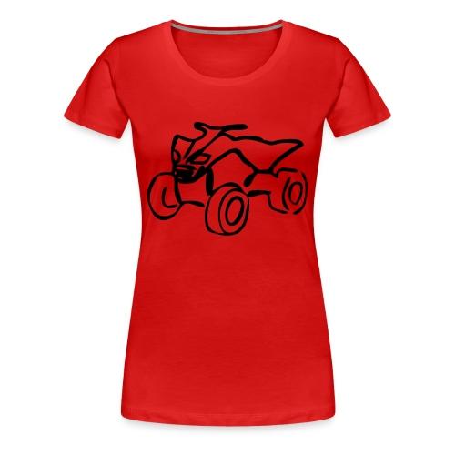 1 - T-shirt Premium Femme