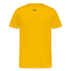 ELLAND ROAD - ACTUAL STADIUM PLAN - Men's Premium T-Shirt
