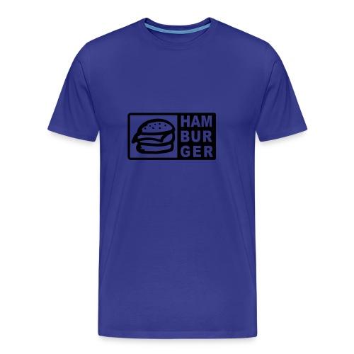 Hamburger-Shirt - Männer Premium T-Shirt