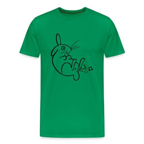 Hasenpups - Männer Premium T-Shirt
