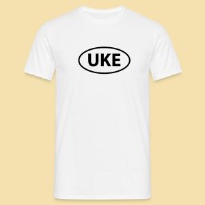 Menshirt: UKE shirt (black) - Männer T-Shirt