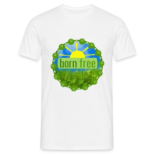 T-shirt - BORN FREE - T-shirt herr