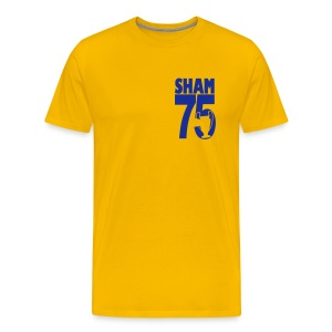 SHAM 75 - EUROPEAN CUP 75 - LEEDS SALUTE PLACEMENT - Men's Premium T-Shirt