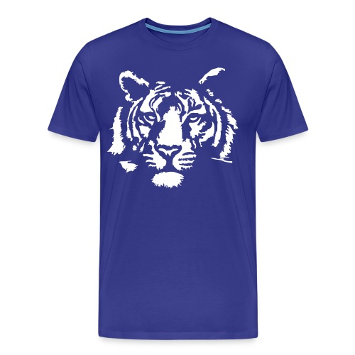 whiter tiger - Men's Premium T-Shirt