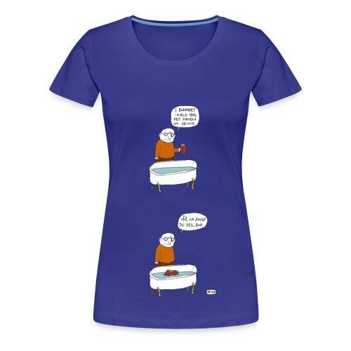 Bokbadtrøya, jente - Premium T-skjorte for kvinner