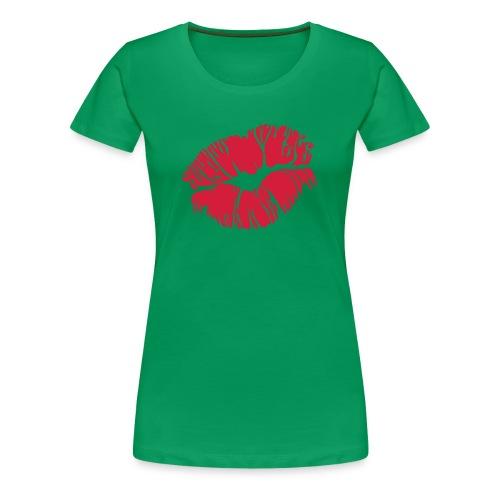 Kiss Womens XXXL T-Shirt - Women's Premium T-Shirt