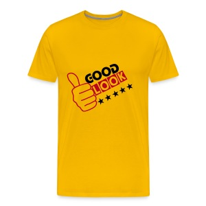 Good LOOk 5STAR - yELLOW - Men's Premium T-Shirt