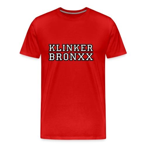 T-Shirt Klinker-Bronxx - Männer Premium T-Shirt