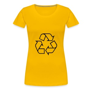 Recycle open - Vrouwen Premium T-shirt