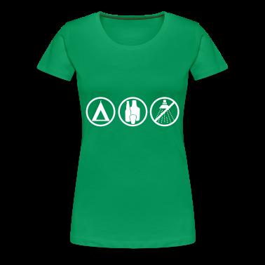 Grass green Festival - Camping Women's T-Shirts