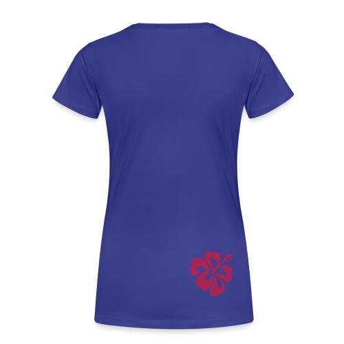 DQ13 - Floral - Women's Premium T-Shirt