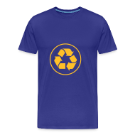 T-shirts ~ Mannen Premium T-shirt ~ Recycle circle