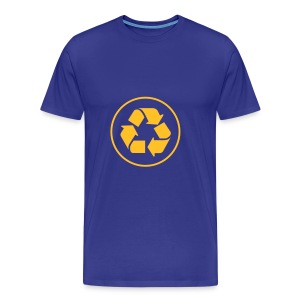 Recycle circle - Mannen Premium T-shirt