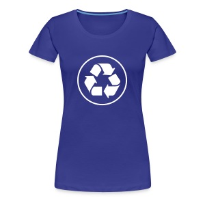 Recycle circle - Vrouwen Premium T-shirt