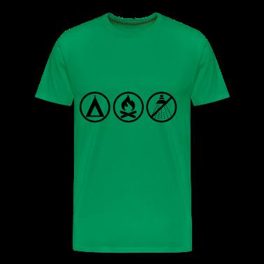 Verde muschio Camping - Pathfinder T-shirt