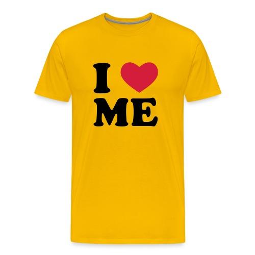 I love me - Premium T-skjorte for menn