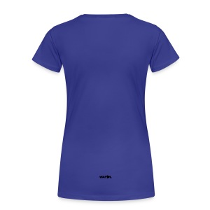 ELLAND ROAD - ACTUAL STADIUM PLAN - Women's Premium T-Shirt