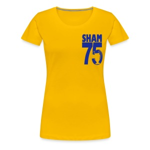 SHAM 75 - LEEDS SALUTE PLACEMENT - Women's Premium T-Shirt