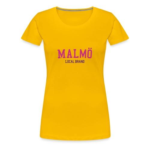 Malmö LB Tee - Premium-T-shirt dam