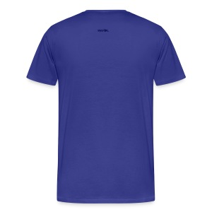 SCARF SQUARE - AWAY - Men's Premium T-Shirt