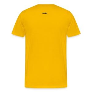 SCARF SQUARE - AWAY - Men's Premium T-Shirt