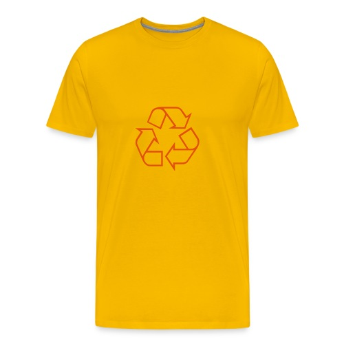 Recycle open - Mannen Premium T-shirt