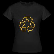 T-shirts ~ Vrouwen T-shirt ~ Recycle open