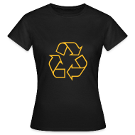 T-shirts ~ Vrouwen T-shirt ~ Recycle open