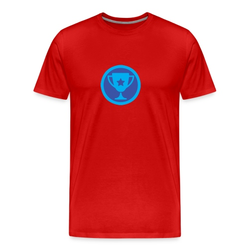 Beker Tamelijk newbie - Mannen Premium T-shirt