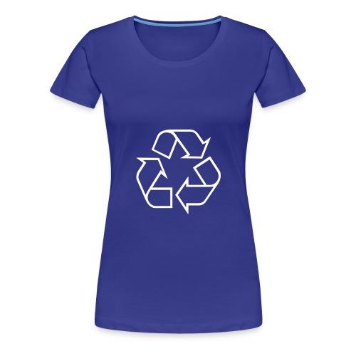 Recycle open - Vrouwen Premium T-shirt