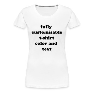 Women custom t-shirt - Women's Premium T-Shirt
