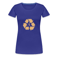 T-shirts ~ Vrouwen Premium T-shirt ~ Recycle 1 dicht