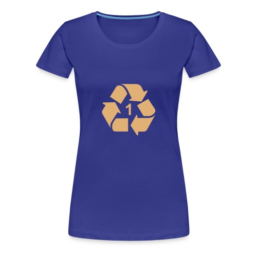 Recycle 1 dicht - Vrouwen Premium T-shirt