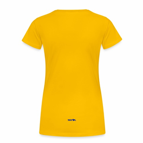 WAFLLEEDS - OLD LEEDS CHANT ACRONYM - Women's Premium T-Shirt