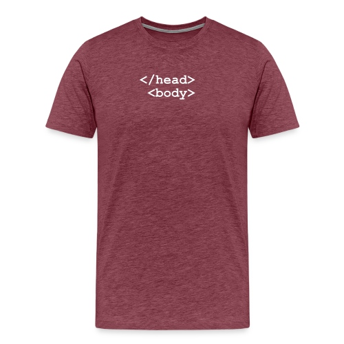 T-Shirt Homme - </head><body> - T-shirt Premium Homme