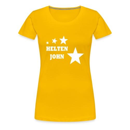 Helten John - Premium T-skjorte for kvinner