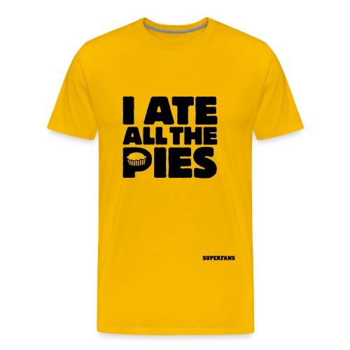 I Ate All the Pies - Men's T-Shirt - Men's Premium T-Shirt