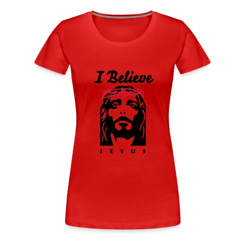 I believe crown - Women's Premium T-Shirt