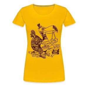 Wotto Dodo Girlieshirt - Frauen Premium T-Shirt