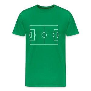 football field - T-shirt Premium Homme