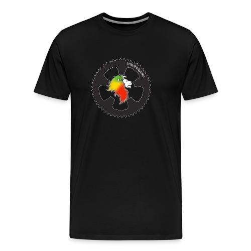 [ bbb logo ]   Big  Shirt - schwarz o. weiß - Männer Premium T-Shirt