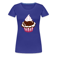 T-shirts ~ Vrouwen Premium T-shirt ~ Cupcake