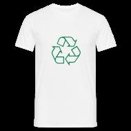 T-shirts ~ Mannen T-shirt ~ Recycle open