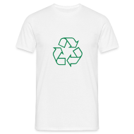 T-shirts ~ Mannen T-shirt ~ Recycle open