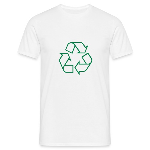 Recycle open - Mannen T-shirt