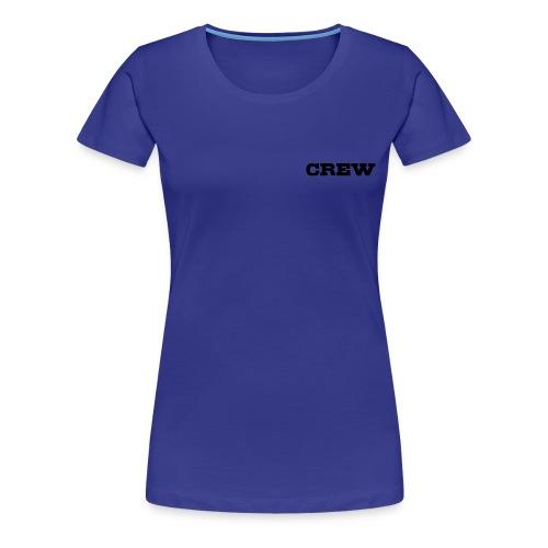Löwen Shirt Crew  - Frauen Premium T-Shirt