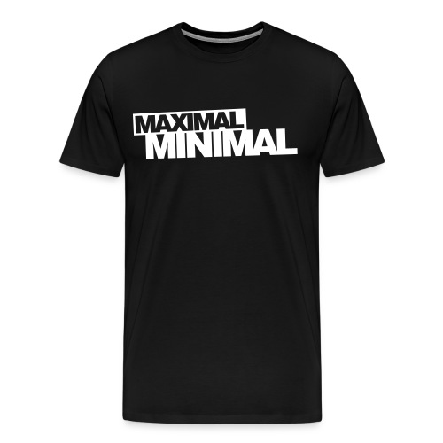 maximal,minimal - Männer Premium T-Shirt