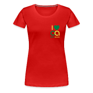 T-Shirts ~ Frauen Premium T-Shirt ~ I love Open Access Girlieshirt