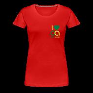 T-Shirts ~ Frauen Premium T-Shirt ~ I love Open Access Girlieshirt