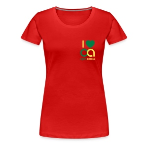 I love Open Access Girlieshirt - Frauen Premium T-Shirt
